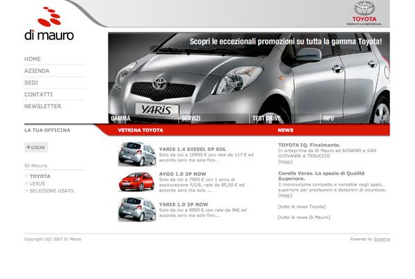 Homepage Totyota.